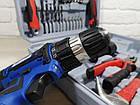 Шуруповерт акумуляторний Витязь ТА 12-2ЛН (з набором інструментів). Білоруський Шуруповерт, фото 3
