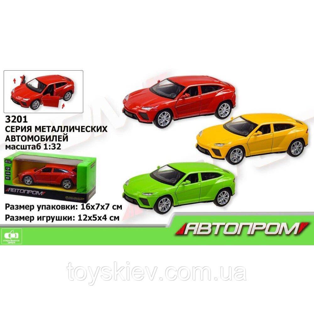 """Машинка """"Lamborghini"""" из серии """"Автопром"""" 3201"""