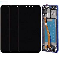 Дисплей для Huawei P Smart Plus (INE-LX1), Huawei Nova 3i, модуль (экран и сенсор), с рамкой, оригинал