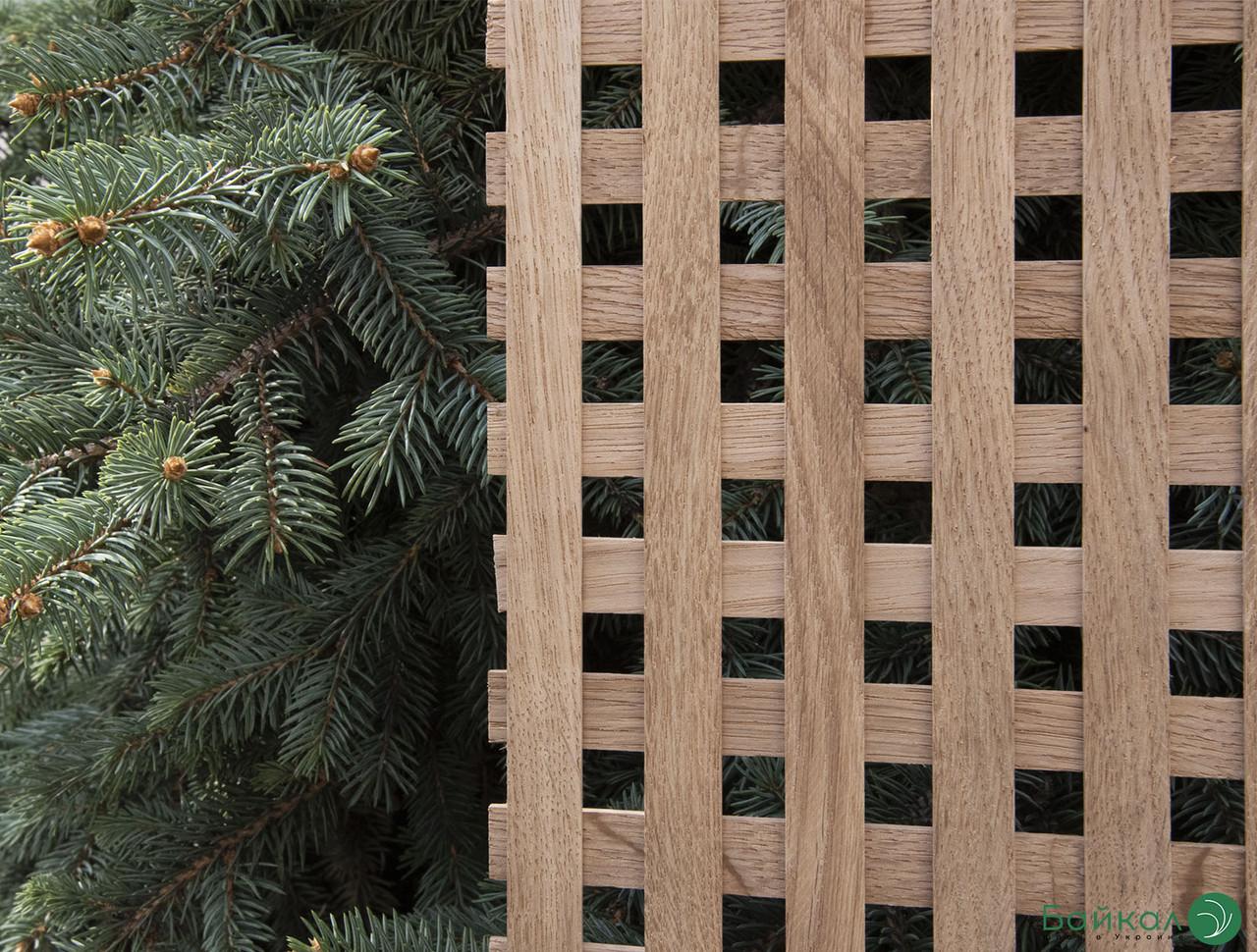 Деревянная декоративная решетка — 6.2P (Ольха, Бук, Клен, Ясень, Дуб)