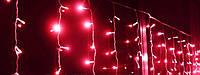 """Светодиодная гирлянда """"Дождь"""" 4м * 0,6м IP44 красная"""