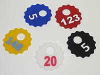 Брелки на ключи диаметр 60 мм, фото 1