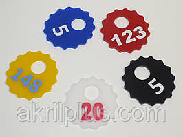 Брелки на ключи диаметр 60 мм