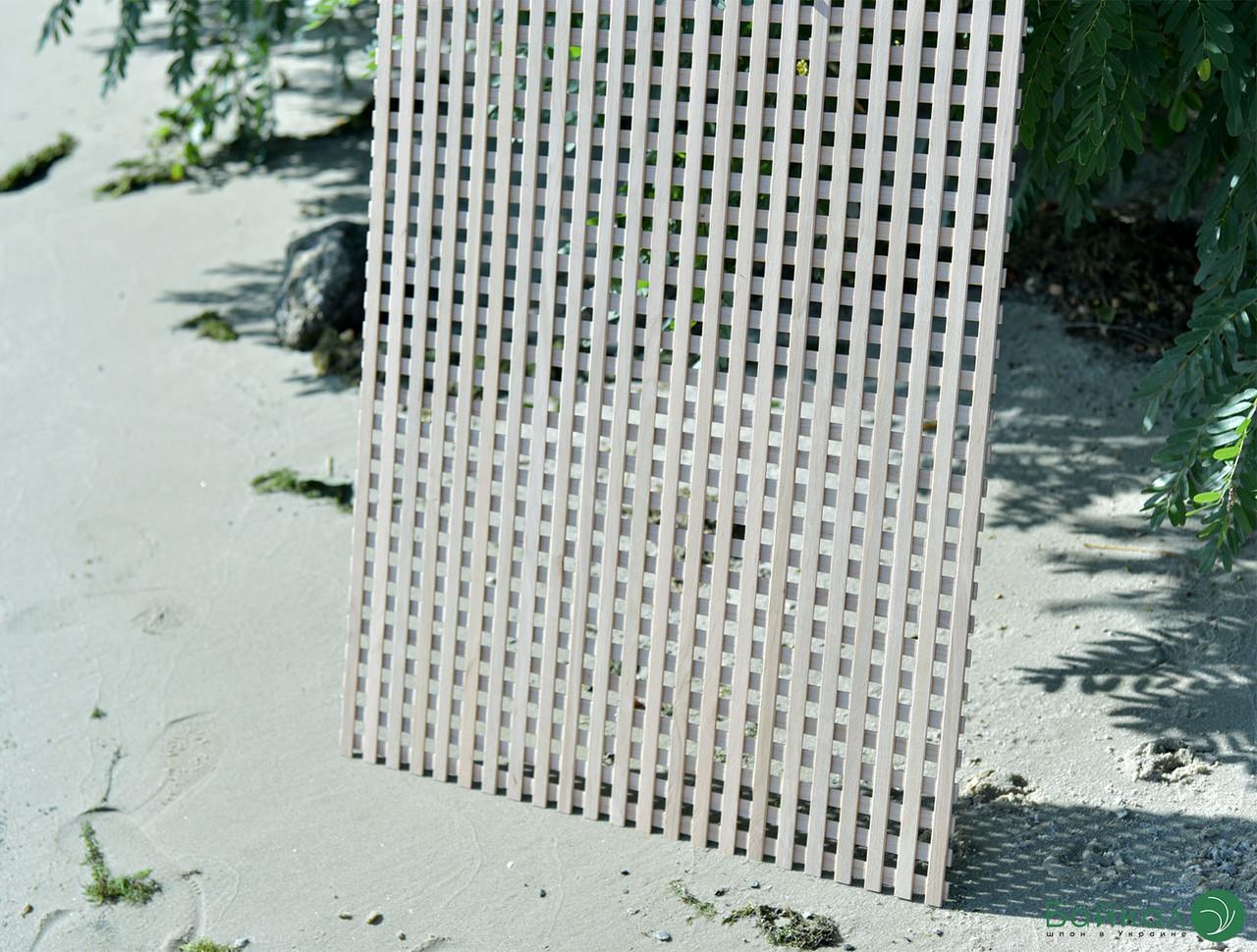Дерев'яна декоративна решітка — 2S (Вільха, Бук, Клен, Ясень, Дуб)