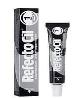 Краска для бровей|RefectoCil№1| Pure Black (глубокий черный)