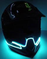 Неонова подсветка шлема (фулфейса)