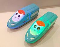 Поезд музыкальный с подсветкой,инерция,18 см