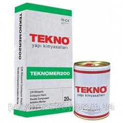 Двухкомпонентная полимер-цементная гидроизоляция Teknomer 200