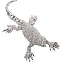 Deco Figurine Lizard Silver Medium