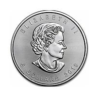 Канада Кленовий лист Срібна монета 2019 (канадський Кленовий лист) 5 доларів 1 унція
