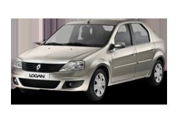 Дефлектор на капот (Мухобойки) для Dacia (Дачия) Logan Sedan 1 2004-2012