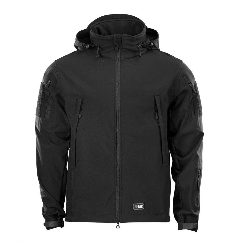 Куртка М-Тас Soft Shell BLACK