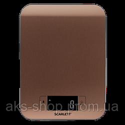 Весы кухонные электронные Scarlett SC-KS57P49 вес до 8 кг точность до 1 гр