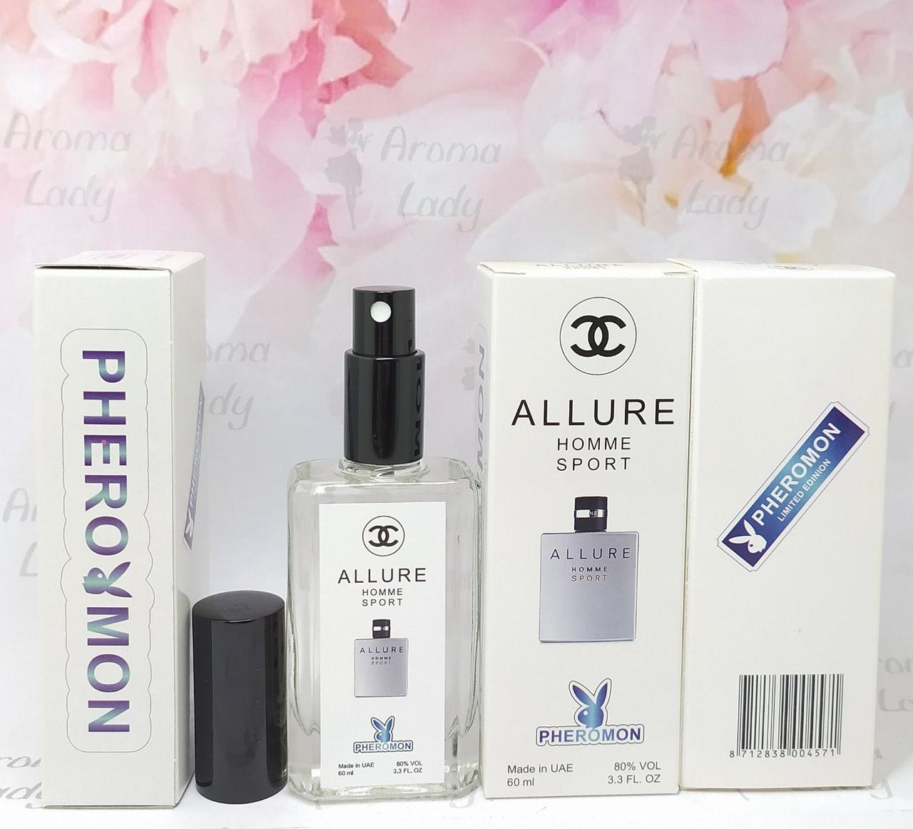 Мужской аромат Chanel Allure homme Sport (Шанель Аллюр хом Спорт) с феромонами 60 мл