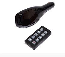 Автомобильный FM-трансмиттер HZ H20BT c Bluetooth, FM-модулятор с пультом дистанционного управления ВИДЕООБЗОР, фото 2