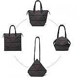 Сумка Bao-Bao трансформер-сумка геометричний хамелеон, фото 6