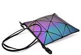 Сумка Bao-Bao трансформер-сумка геометричний хамелеон, фото 7