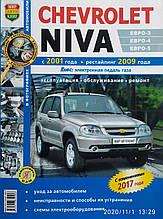 CHEVROLET NIVA Моделі з 2001 року, рестайлінг 2009 і 2017 років Експлуатація / Обслуговування / Ремонт