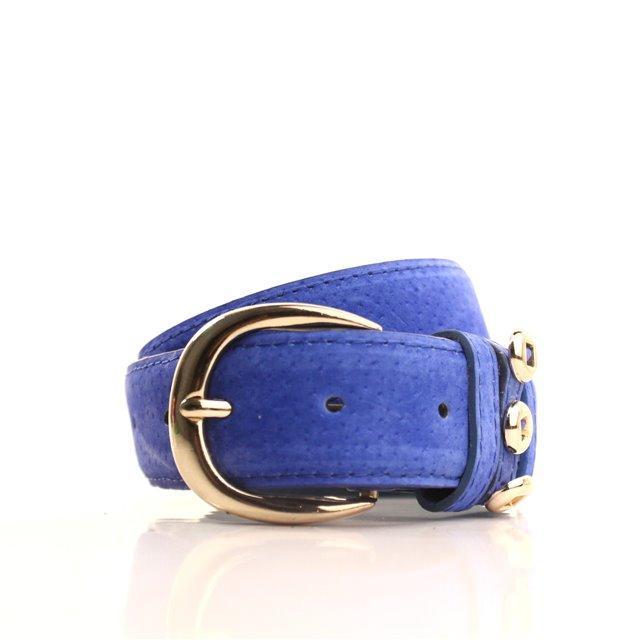 Ремень Casa Familia синий L3510W9 105-110 см