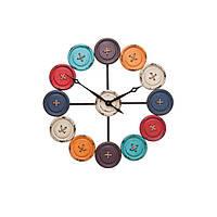 Wall Clock Buttons