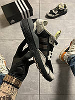 Adidas Nite Jogger Black Beige (Черный), фото 1