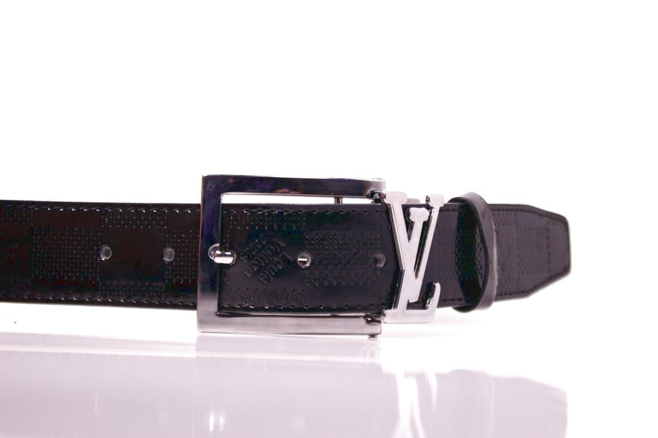 Ремень Casa Familia искусственная кожа, черный Л3510Ш48 100-105 см