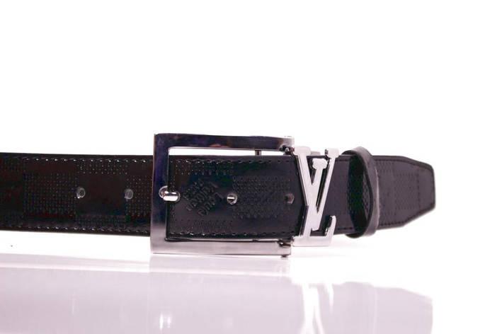 Ремень Casa Familia искусственная кожа, черный Л3510Ш48 100-105 см, фото 2