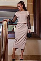Платье 12-1257 - черный:  М L XL XXL, фото 1