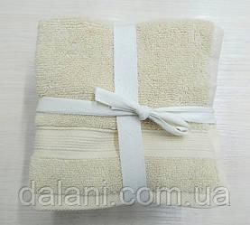 Набор молочных кухонных полотенец 30*30 (5шт)