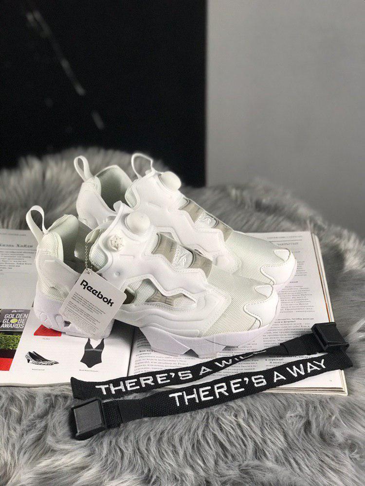 Reebok Insta Pump Fury Full white (Белый)