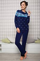 Флисовая пижама женская (комплект домашний)  Key LHS 989 B5