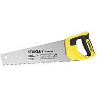 Ножовка по дереву 380мм 7 TPI закаленный зуб TRADECUT STANLEY® нержавеющая сталь