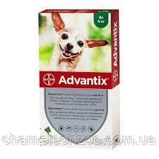 Адвантикс до 4 кг №4 - капли для собак от блох, клещей и москитов