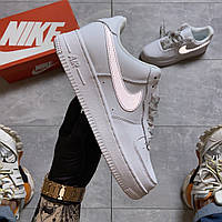 Nike Air Force 1 Low White REFLECTIVE (Белый), фото 1