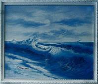 """Картина """"Небесная синева"""""""