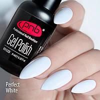 Гель-лак PNB Perfect White ( холодый белый ), 4 ml, фото 1