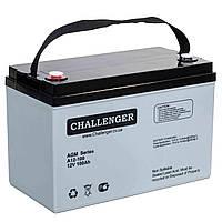 Аккумуляторная батарея Challenger A12-100, 12В, 100Ач, AGM