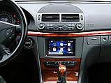 Mercedes E-class W211 (381190-28) рамка магнитолы на мерседес на мерс е класс в211, фото 3