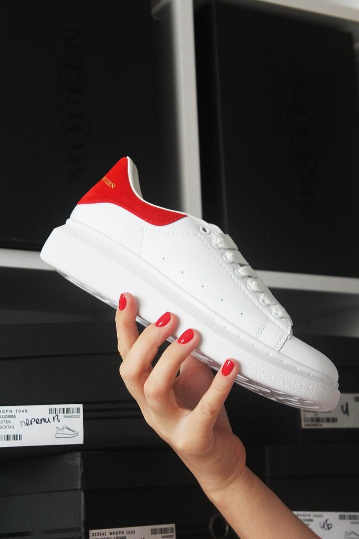 Alexander McQueen White Red (Белый Красный)
