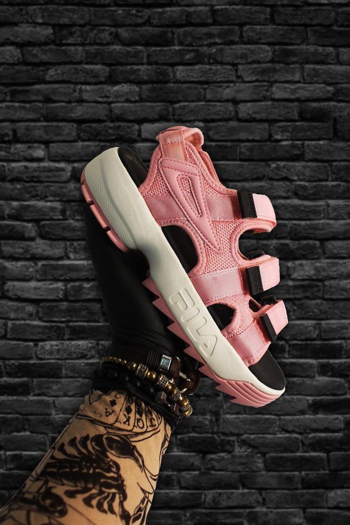 Fila Disruptor Sandals Pink White (Розовый)