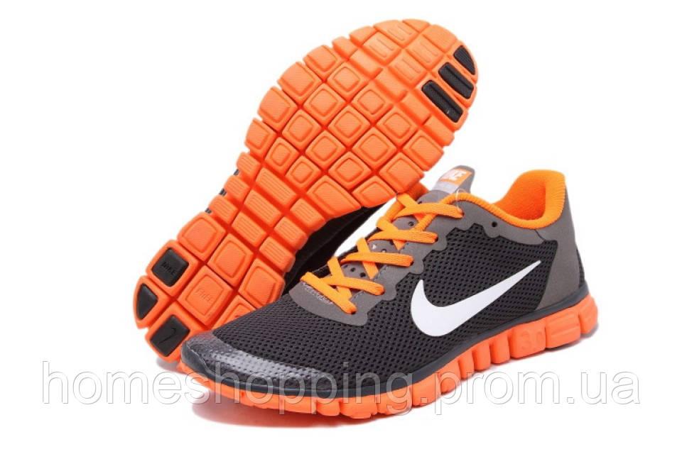 Кроссовки мужские Nike Free 3.0 V2 Black черные14