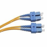 FBT SC-SC duplex 1м, 3мм, SM оптический патч-корд (соединительный шнур)