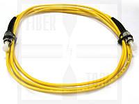 FBT ST-ST simplex 1м, 3мм, SM оптический патч-корд (соединительный шнур)