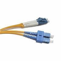 FBT LC-SC duplex 1м, 2мм, SM оптический патч-корд (соединительный шнур)