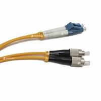 FBT FC-LC duplex 1м, 3мм, SM оптический патч-корд (соединительный шнур)