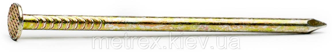 Гвоздь 1.2х30 мм строительный оцинкованный DIN 1151 Nail желтый цинк, 100 г.
