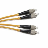 FBT FC-FC duplex 2м, 3мм, SM оптический патч-корд (соединительный шнур)