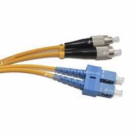 FBT FC-SC duplex 2м, 3мм, SM оптический патч-корд (соединительный шнур)