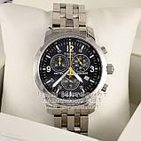 Брендовые мужские наручные часы Tissot PRC 200 T17.1.586.52 Chronograph Тиссот качественная премиум реплика, фото 2