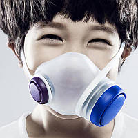 Xiaomi (OR) Woobi Pop Kids Mask White(GB2626-2006 KN95) (Детская маска для очистки воздуха)